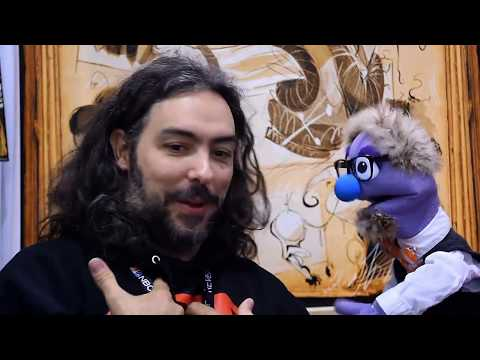 That Time Artist Max Narciso Talked to a Puppet about Canapazzi