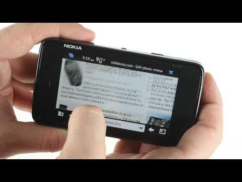 Nokia N900 user Interface
