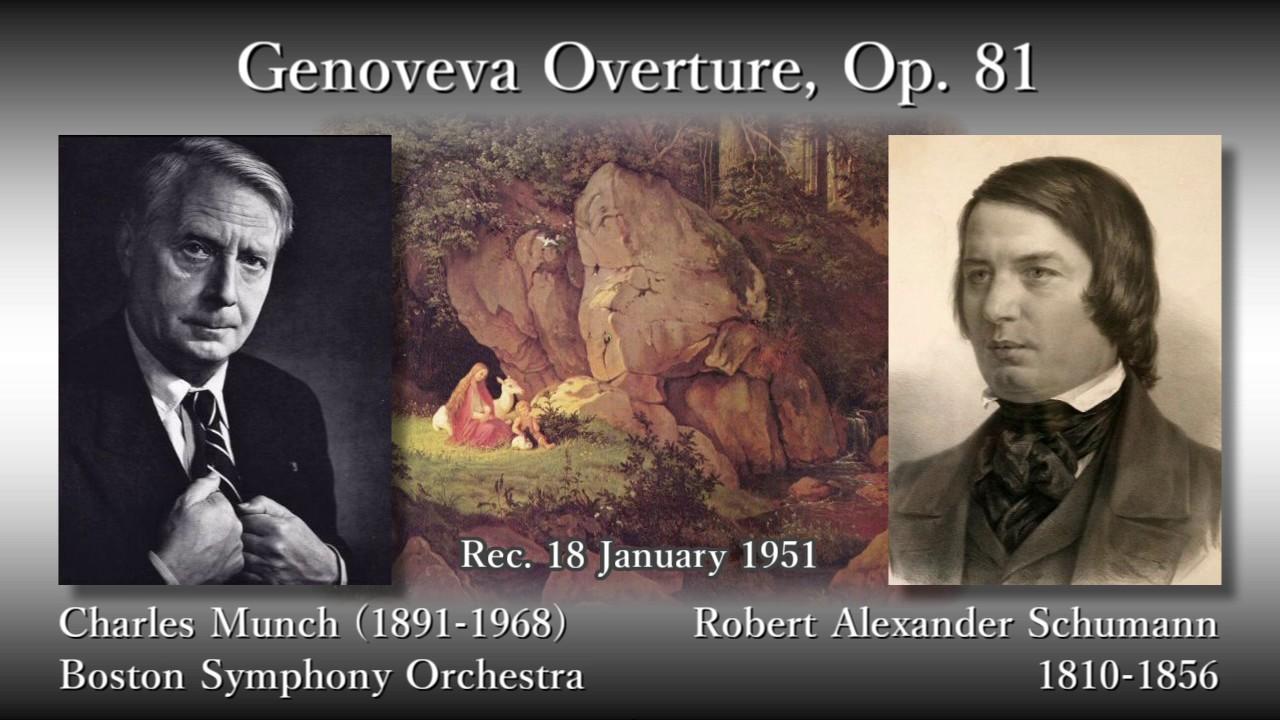Schumann: Genoveva Overture, M...