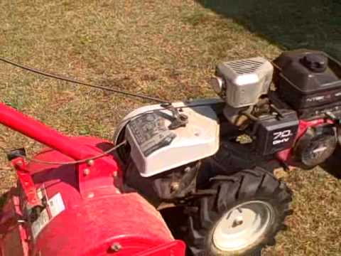 Huskee rear tine tiller 7 HP motor SC auction South Carolina Auctions