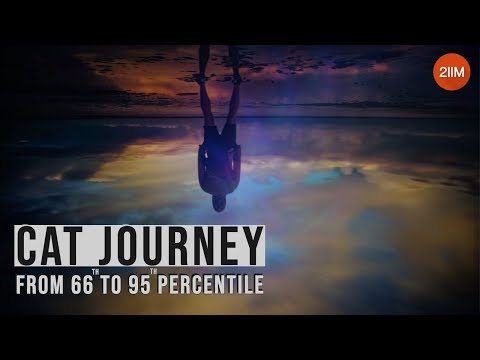 My CAT journey from 66 to 95 percentile | How to handle pressure effectively? | CAT Preparation