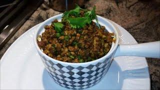 How To Cook Chicken Keema   Ground Chicken Meat   Punjabi Style Recipe