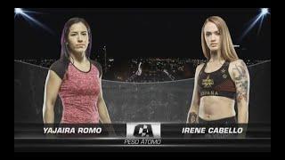 Yajaira Romo VS Irene Cabello (Combate Américas)