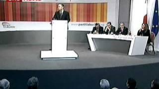 Joseph Muscat | Moviment Miftuh ghall-Kulhadd | Konferenza Generali 2011
