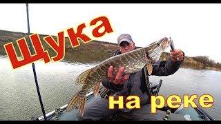 Щука на Спінінг CRAZY FISH Arion ASR 762S M. Рибалка на річці
