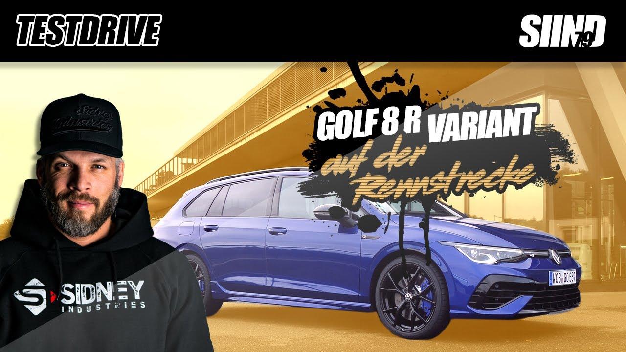GOLF 8 R VARIANT auf der Rennstrecke! | Teil 2 | Sidney Industries