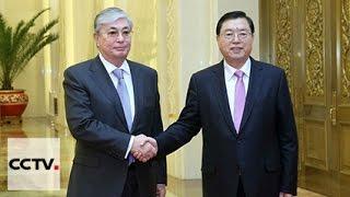 Чжан Дэцзян и Касым-Жомарт Токаев провели встречу в китайской столице