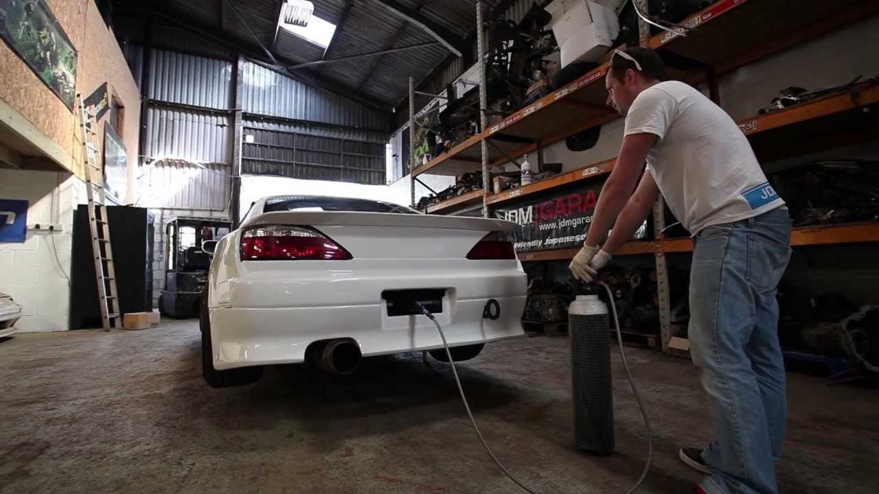 Clip Air Jacks Testing On The Jdm Garage Nissan S15