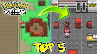 TOP 5 TRUCOS Y SECRETOS DE POKEMON PLATINO