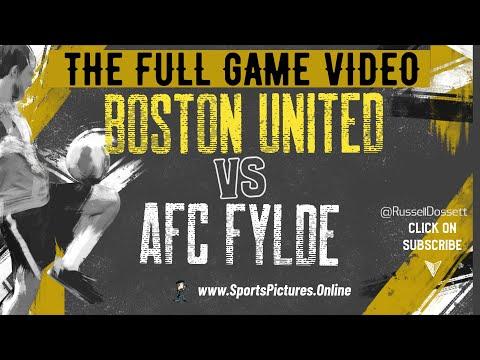 Boston Utd Fylde Goals And Highlights