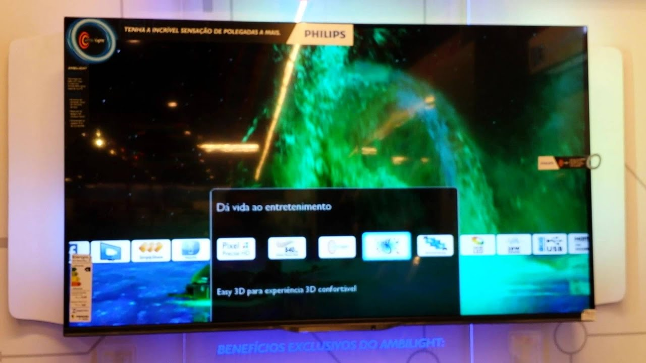 Preview: Philips 50PUK6809/12 UHD / 4K LED Slim Smart Ultra HD TV .