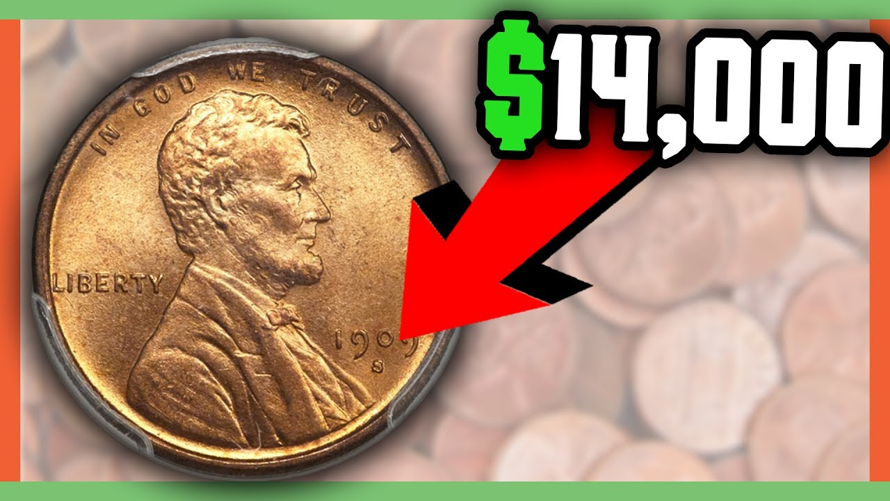 RARE PENNIES WORTH MONEY - COINS TO LOOK FOR IN POCKET CHANGE!!