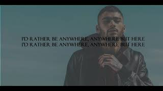 ZAYN - Good Years (Lyrics)