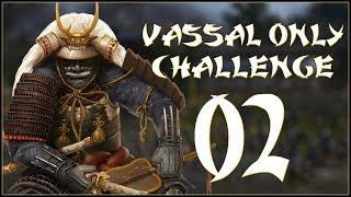 BETRAYED - Oda (Legendary - Challenge: Vassal Only) - Total War: Shogun 2 - Ep.02!