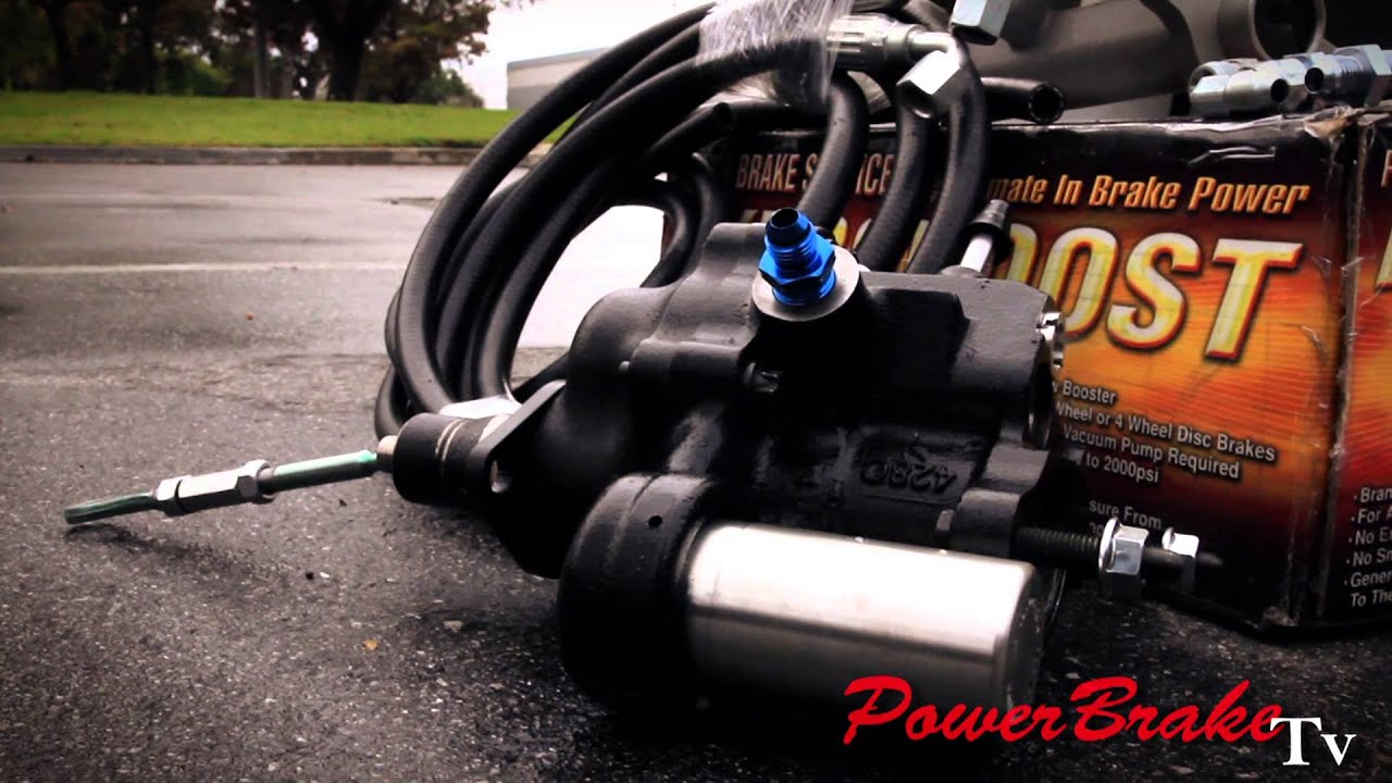 K20 K1500 K2500 C1500 C2500 Hydro-Boost Power Brake Conversion