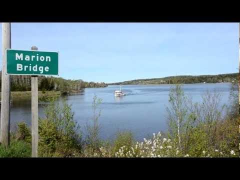 Marion Bridge boats on the Mira