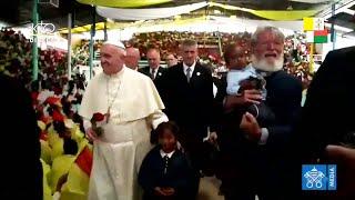 Visite du pape François à Akamasoa
