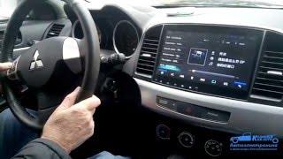 Mitsubishi  Lancer X Android