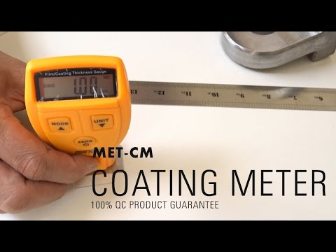 Coating Meter - fast, accurate and nondestructive measurement of the thickness