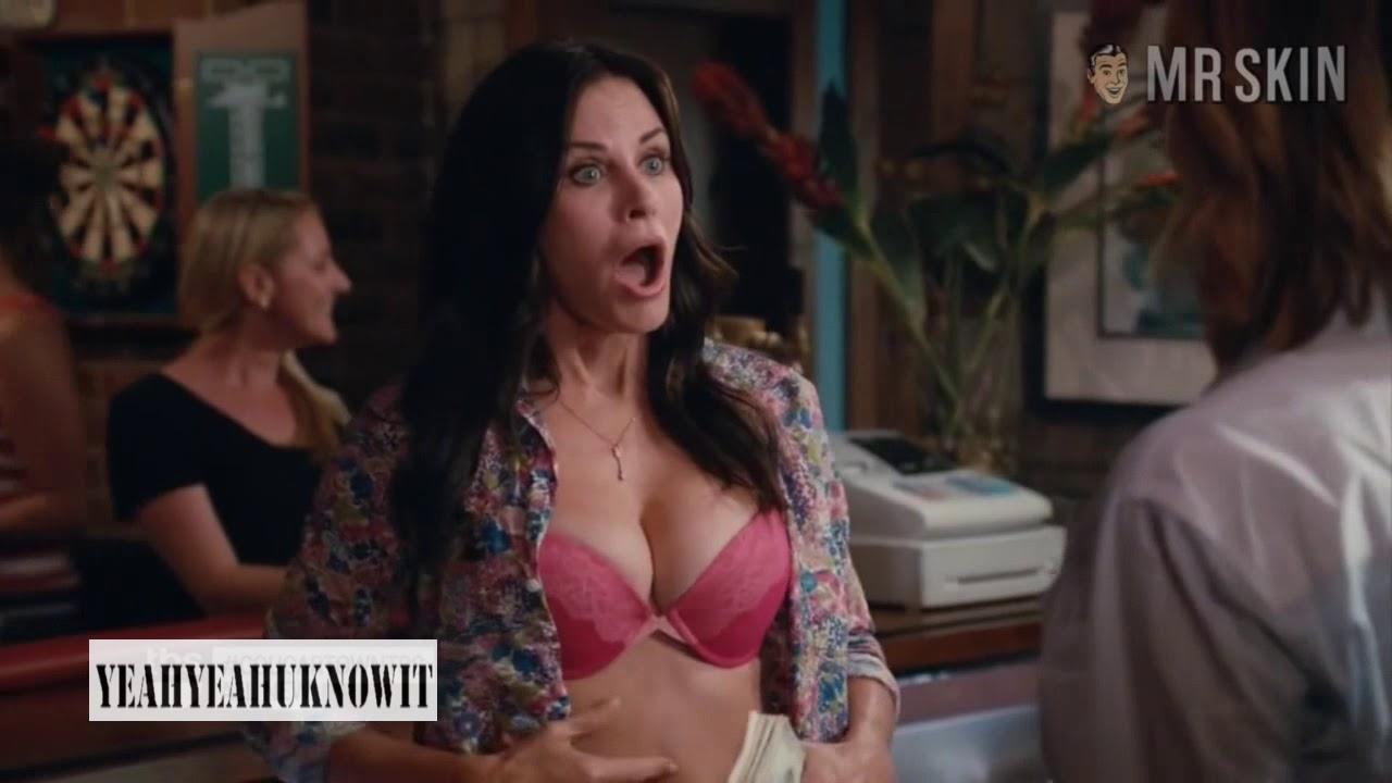 Courteney cox cougar town fake porn