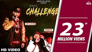 Challenge (Full Video) Ninja | Sidhu Moose Wala, Byg Byrd | White Hill Music | New Punjabi Song 2018