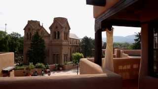 Morgan {+} Blake Wedding Highlight~LaFonda Hotel, Santa Fe