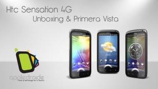 HTC Sensation 4G unboxing y 1.ª vista de un poderoso equipo doble núcleo