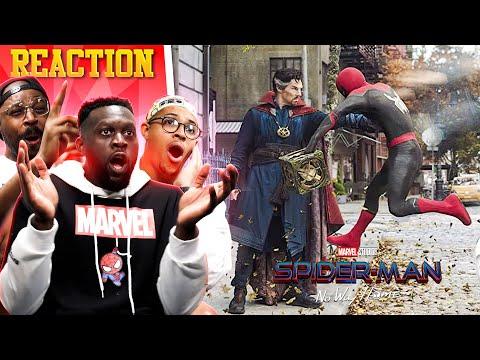 SPIDER-MAN: NO WAY HOME | Official Teaser Trailer Reaction