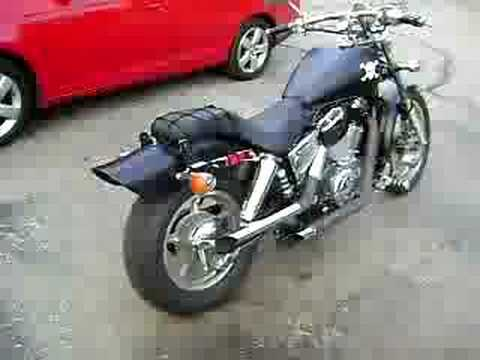 1999 Honda Shadow 1100 Spirit Murdered Out Youtube