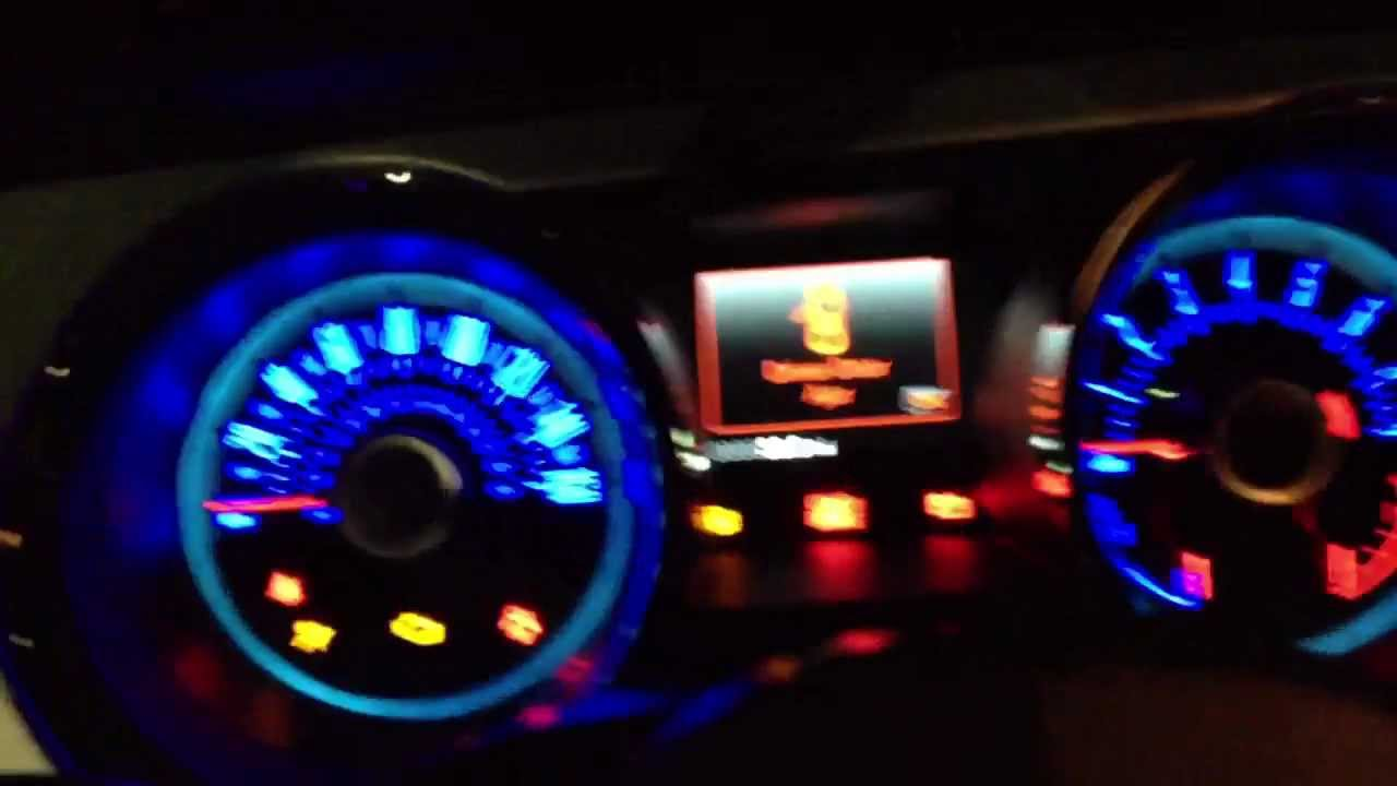 2013 Ford Mustang Gt Hid Demonstration And Night Drive