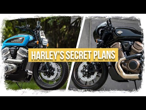 NEW Harley Davidson Motorcycles - Cafe Racer And Flat Tracker