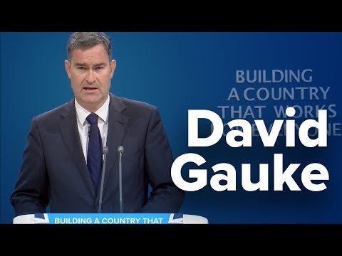 David Gauke: Speech to Conservative Party Conference 2017