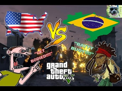 American VS Brazilian :D FIRE!! :)