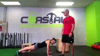Ultimate Wedding Workout- Pushups yorktown trainer