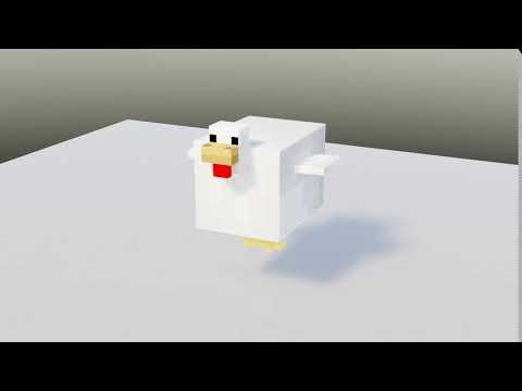 【Minecraft Animation】GM Chicken Feed 1.1