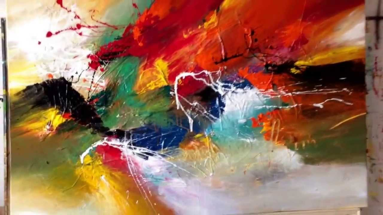 for you my love, paintingdan bunea, living abstract paintings