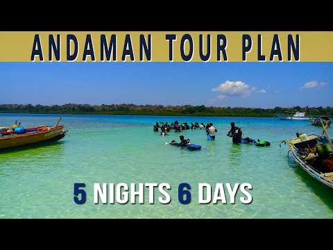 Andaman Tour Plan | Andaman Tour Package- 5 Nights And 6 Days