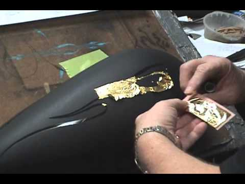 Black And Gold Motorcycle Paint Jobs