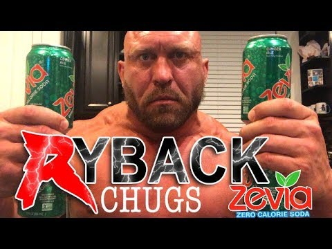 ryback-chugs-4-cans-of-zevia-soda's---chugging-drink-challenge