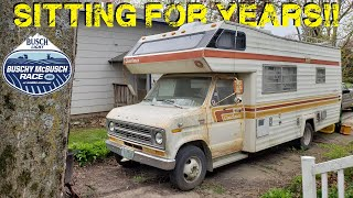 Can We Drive This ABANDONED Camper 500 Miles and CAMP IN IT!?