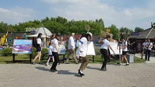 Michael Jackson Impersonator Pavel Talalaev Smooth Criminal Flash Mob