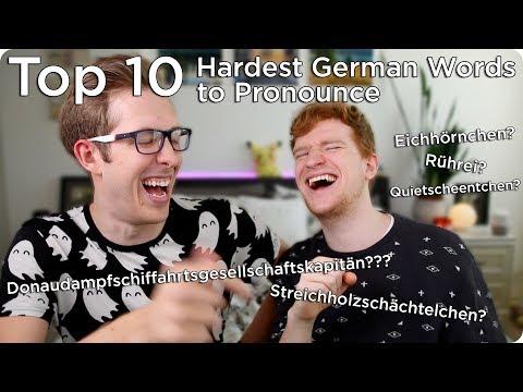Top 10 Hardest German Words To Pronounce | Evan Edinger