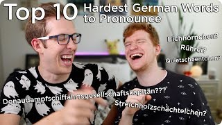 Top 10 Hardest German Words to Pronounce | Evan Edinger