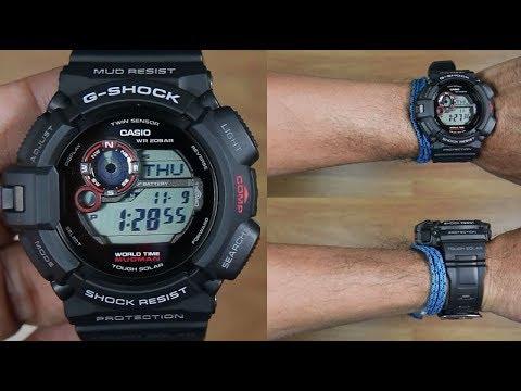 CASIO G-SHOCK MUDMAN G-9300-1 TWIN SENSOR - UNBOXING - YouTube 943cef9ab84d