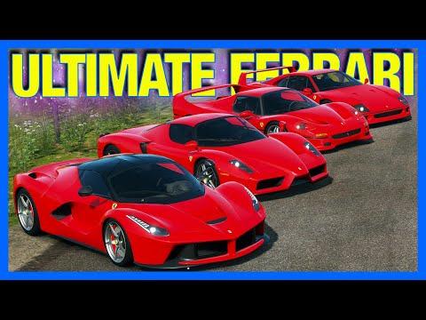 Forza Horizon 4 Online : The BEST Ferrari!!