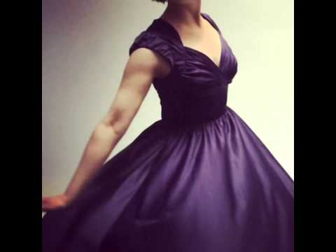 Twirling 1950s Dress | Favourite Stop Staring Dress At Revival Retro