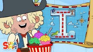 "Alphabet Cartoon: An Incredible Adventure on ""I"" Island"