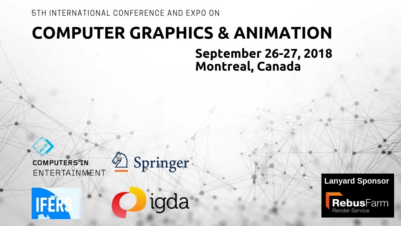 Computer Graphics Conferences 2019 | Animation Meetings