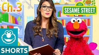 Elmo & Ms. Booksy Read Jack and the Beanstalk - Part 3 | Story Time with Ms. Booksy at Cool School