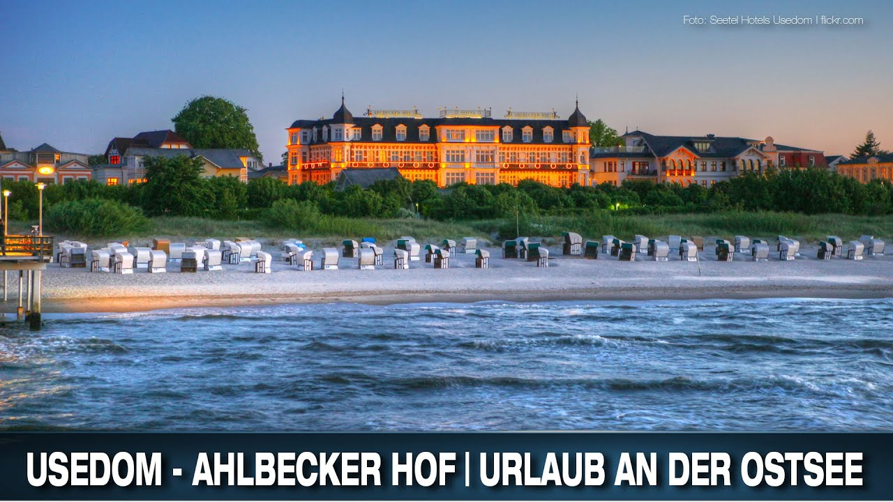 usedom ahlbecker hof urlaub an der ostsee youtube. Black Bedroom Furniture Sets. Home Design Ideas